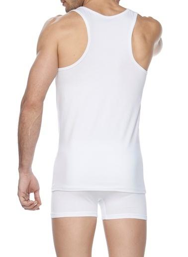 SVM Halter Yaka Modal Atlet Beyaz